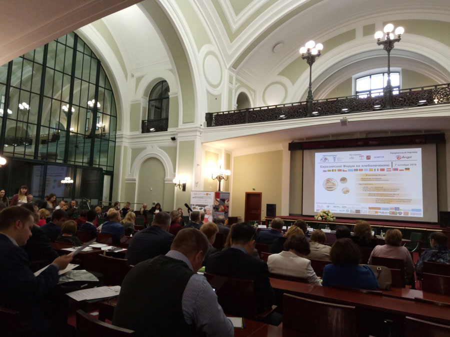 Angel Participated in the First Eurasian Baking Forum in Russia