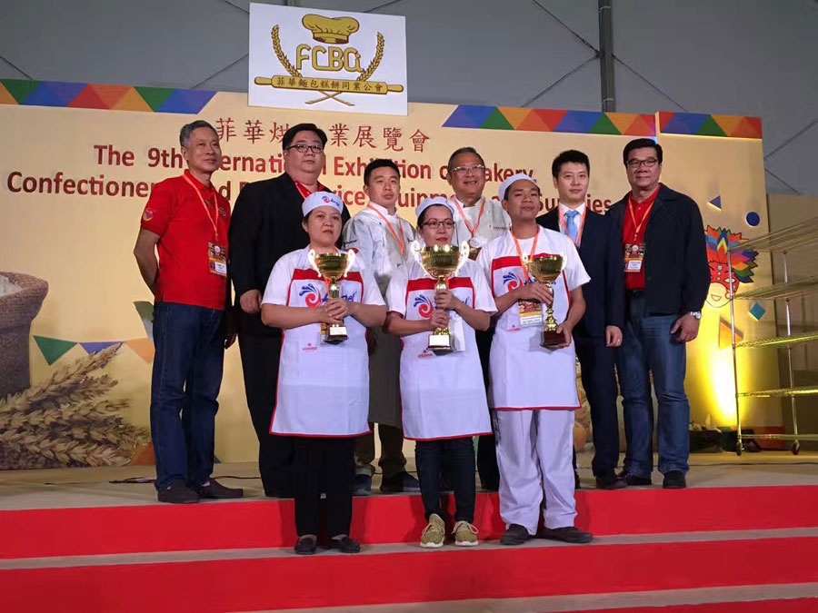 "Angel in Philippines Baking Exhibition & Selection Competition of ""Angel Yeast Cup"" Chinese Fermented Flour Based Food Contest"