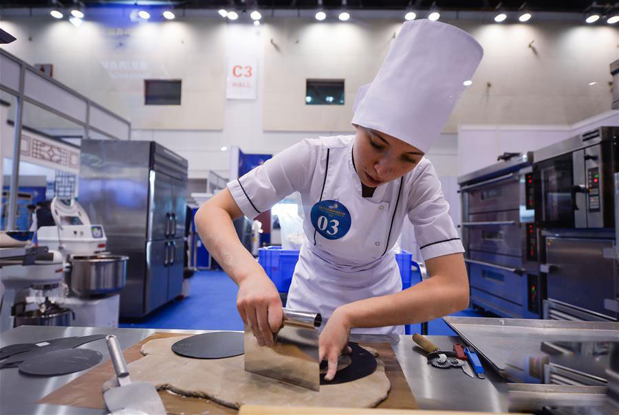 Bakery Team of Russia Won Silver Medal in International Skills Contest in China