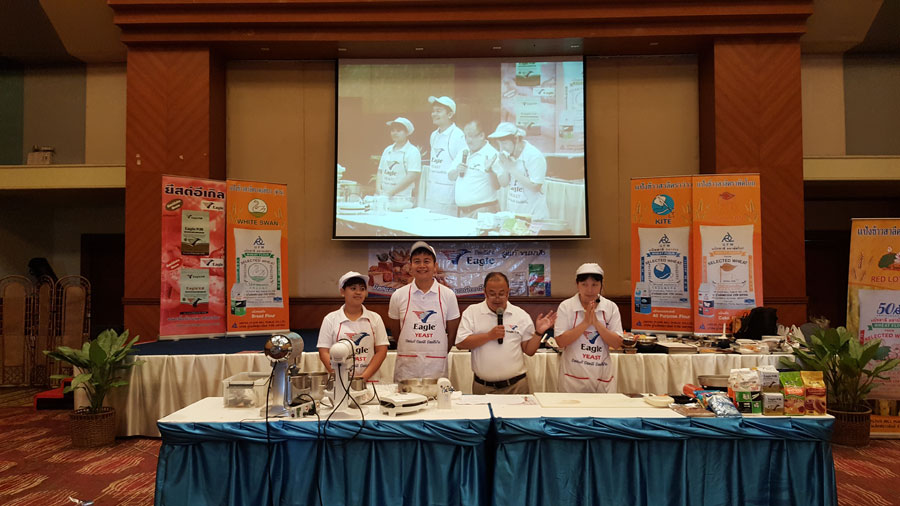 Thailand Distributor held Product Demo by self
