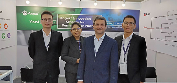 Angel Microbial Nutrients Division attended CPHI India