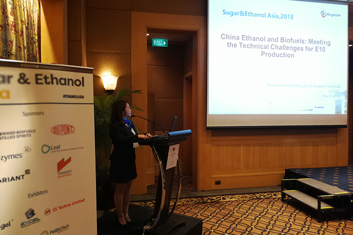The speech made by Angel on the twelfth Sugar & Ethanol Asia 2018
