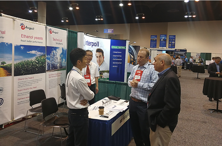 Angel attend the 34th International Fuel Ethanol Workshop&EXPO