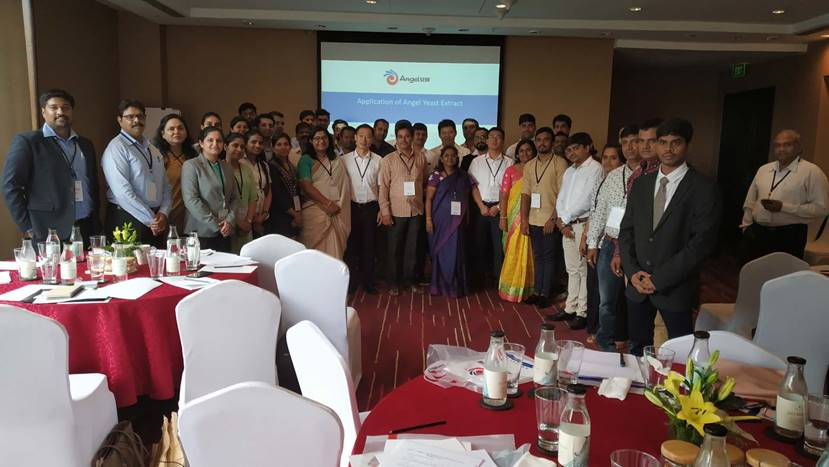 Innovative savory snack applications with YE seminar held in India