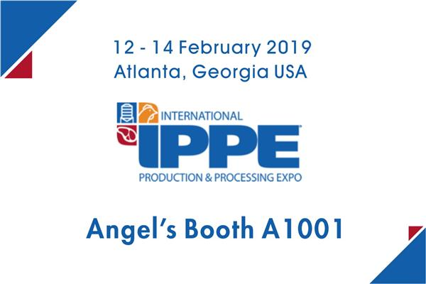 Be sure to stop by and see us at IPPE 2019