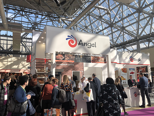 Angel Russia Company attended Modern Bakery Moscow 2019