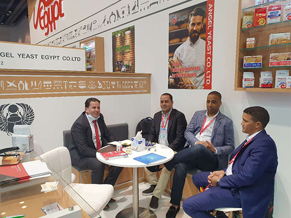 Angel Egypt Sales Attend GULFOOD